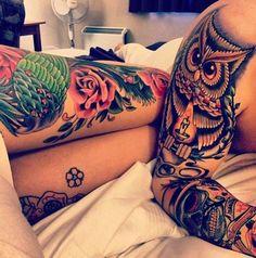 owl tattoos (: | Tattoo Ideas Central