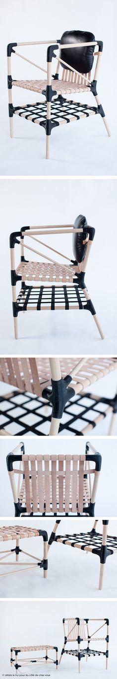 #dccv #diy #drolesdoiseaux #fauteuil #chair #wool #sweet #cocoon #design #home #deco