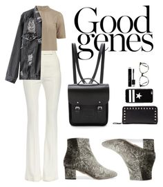 """""""Untitled #130"""" by allisonpaaige ❤ liked on Polyvore featuring Alexander McQueen, Designers Remix, Aquazzura, The Cambridge Satchel Company, Christian Dior, Valentino, Givenchy and Ace"""
