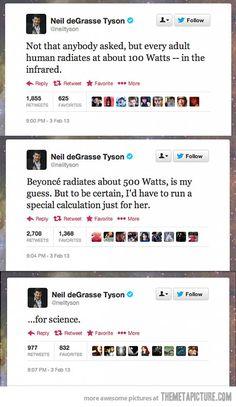 Gotta love Neil deGrasse Tyson…