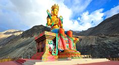Monasteries are the unique flavor and beauty of the Leh Ladakh. Explore the various Buddhist monasteries in Ladakh. #Travel #PeakAdventure