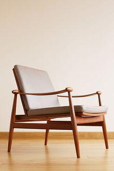 FINN JUHL easy chair FD133 1950s Danish Modern