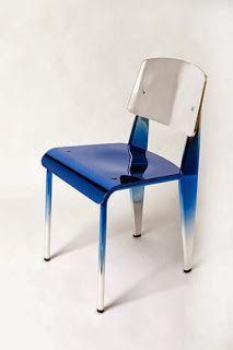 La chaise standard de Jean Prouvé revisitée #miluccia  #sarahlavoine