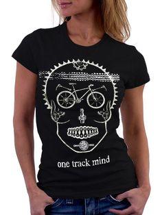 """One Track Mind"" tee http://www.fibica.com/"