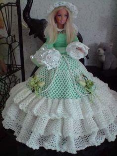 Барби коллекция кукла зеленый