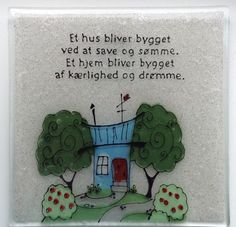 Smukke og kloge ord Cool Words, Wise Words, Bullseye Glass, My Glass, Good Vibes, Fused Glass, Verses, Diy And Crafts, Inspirational Quotes
