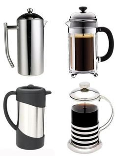 5 Favorite French Presses. Better than electric coffee maker that made of plastic. Plastic is toxic to our health.