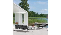 Contemporary garden footstool ninix by kris van puyvelde for royal