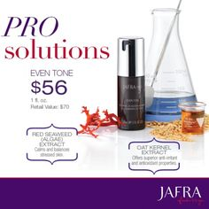 JAFRA PRO's superior ingredients and clinically-tested formulas deliver ultimate solutions for your skin. http://jafra.me/n8r