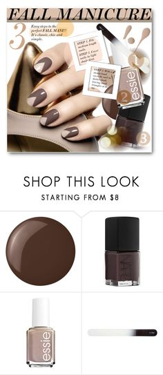 """#Fall Manicure"" by nikkisg ❤ liked on Polyvore featuring beauty, Dolce&Gabbana, Essie, NARS Cosmetics, H&M and fallmanicure"