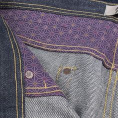 The custom Canadian Maple leaf hidden rivets are a special detail you get to enjoy for yourself until you achieve the unmistakable hidden rivet fades. The Kimono-lined yoke and pocket bags are all for you to enjoy except for the lucky people in your life.  Shinobi (AKA ninjas) used to wear either purple or indigo to disguise themselves at night because the hue of black doesn't appear often in nature, so wearing black produces the opposite effect by making the wearer stand out.  Be a ninja…