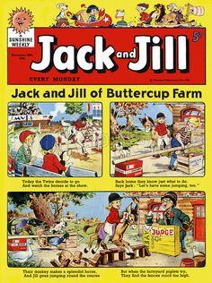 Jack and Jill. Comic strip from Jack and Jill, 28 November 1959.
