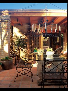 Patio Courtyard +rustic+provincial Design, Pictures, Remodel, Decor and Ideas - page 10