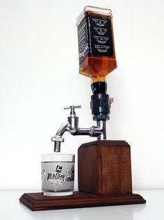 Handmade Wooden alcohol dispenser / liquor dispenser / whiskey dispenser / mens gift, anniversary gifts / wedding gifts / corporate gifts