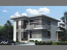 Beautiful House Plans, Beautiful Homes, Home Building Design, Building A House, Kerala Houses, Design Case, Home Fashion, Modern House Design, Villa