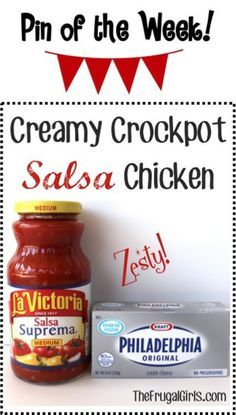 Crockpot Salsa Chicken Recipe! ~ from TheFrugalGirls.com {you'll love this easy Slow Cooker dinner dish, full of zesty kick!} #slowcooker #recipes #thefrugalgirls