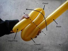 How to Make Fast Sword Balloon Animals