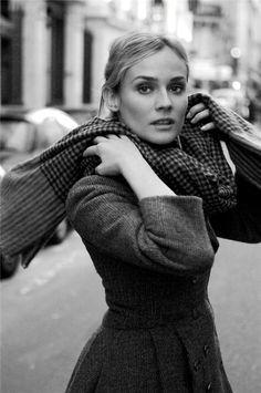 Diane Kruger, fashion inspiration of elegance.