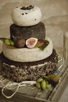 wedding cake OF CHEESES! Formaggi Ocello | Cheese Wedding Cakes & Cheese Celebration Cakes