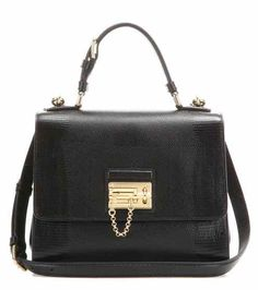 2acb13528af3 DOLCE  amp  GABBANA Monica Embossed Leather Shoulder Bag.  dolcegabbana   bags  shoulder