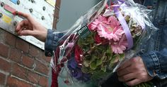A bouquet of flowers by www.jemi.nl delivered in Amsterdam.