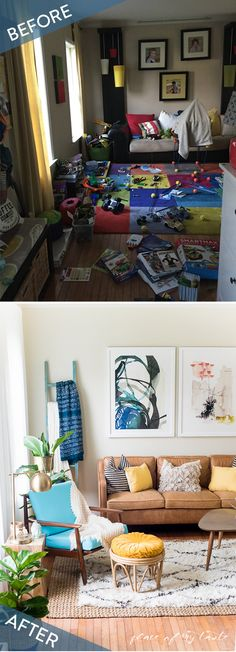 Before + After: My Living room Makeover | Pinterest | Living rooms ...