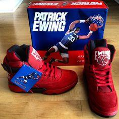 Pusha T pushing the Patrick Ewing Shoes