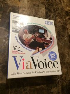 IBM VIAVOICE Voice dictation Software/Hardware for Win. 95 & NT 4.0.