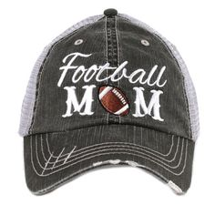 Free Shipping  Football MOM Women's Trucker by katydidcollection
