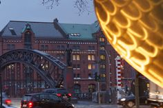 12th of January - Hamburg (Germany) : Despite a rainy weather Hamburg is a north beauty with an amazing industrial heritage