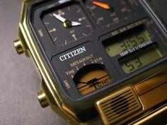 Old Citizen Watches Vintage Retro Watches, Old Watches, Vintage Watches, Smartwatch, Seiko Vintage, Luxury Watches For Men, Digital Watch, Citizen Watches, Sport Watches