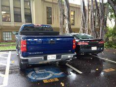 Ummm Steve, wrong parking spot!! #H50