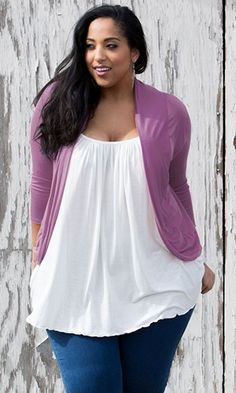 Amber Shrug www.curvaliciousclothes.com TAKE 15% OFF- Use code: TAKE15 at checkout