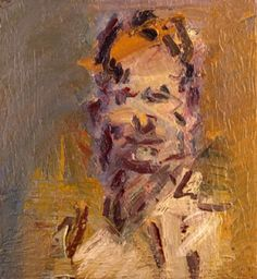 """herzogtum-sachsen-weissenfels: """" Frank Auerbach (British, born Germany, Head of Jake, Oil on canvas, x cm. Abstract Portrait Painting, Figure Painting, Portrait Art, Painting & Drawing, Portraits, Frank Auerbach, Royal College Of Art, Paul Cezanne, Moma"""