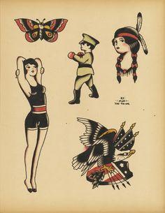 Speedboys: Nick The Tailor / Traditional flash tattoo