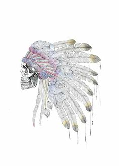 Indian Chief via nannakronborg. Click on the image to see more!