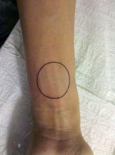 circle tattoo | Tumblr
