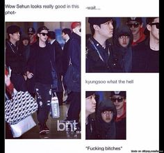 SATANSOO IS REAL!!! ~ Meme Center | allkpop lol i love d.o he so adouable but some times he can look really fuckin creepy
