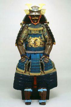 Japanese Samurai's helmet and armor 鎧兜