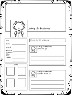 Beethoven Sampler Freebie by Music with Miss W Preschool Education, Music Education, Physical Education, Piano Lessons, Music Lessons, Middle School Music, Music Worksheets, Piano Teaching, Learning Piano