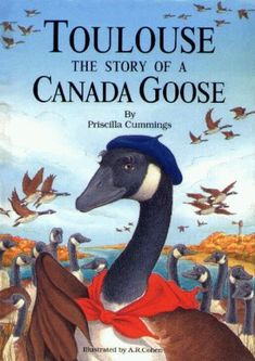 Toulouse: The Story of a Canada Goose by Priscilla Cummings http://www.amazon.com/dp/0870334603/ref=cm_sw_r_pi_dp_pU2Xub0YNA3RN