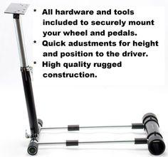 Steering Wheel Stand for Logitech G25 G27 Wheels