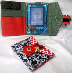 Electronic reader or tablet Cover Pattern Hard Copy by HaileyBelle, $11.00