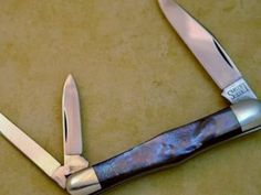 BLADE LIST - Knife, Sword, Blade FREE Classified ads: SCHATT & MORGAN. QUEEN ,SARGENT SWELL CENTER WHITTLER KNIFE BLACK LIP PEARL, Large Pocket Knives Large Pocket knives Listing Details
