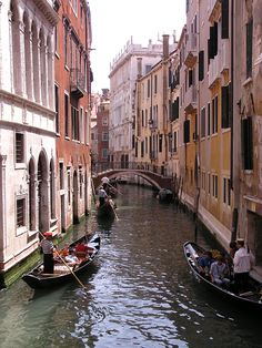 Being in Venice is like stepping into a whole other world...
