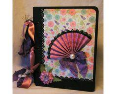 "Scrapbook Fotoalbum ""Meike"" von Pink Paper Raven auf DaWanda.com"