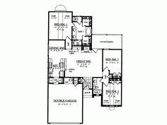 1369 sq ft; 3 bed/2 bath; nice master suite; open floor plan