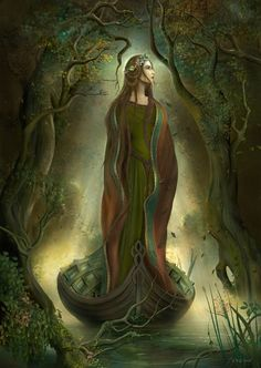 Maiden of Lake Tyrian   She first appeared from the vapors of Lake Tyrian An apparition clad in azur...