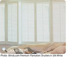 We filled our home with these DIY plantation shutters and added about $20k of value to our home. We LOVE these!  sidelights