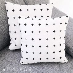 Via Charlotte Wangstedt | Plus Symbol Cushion by Pencil Me In